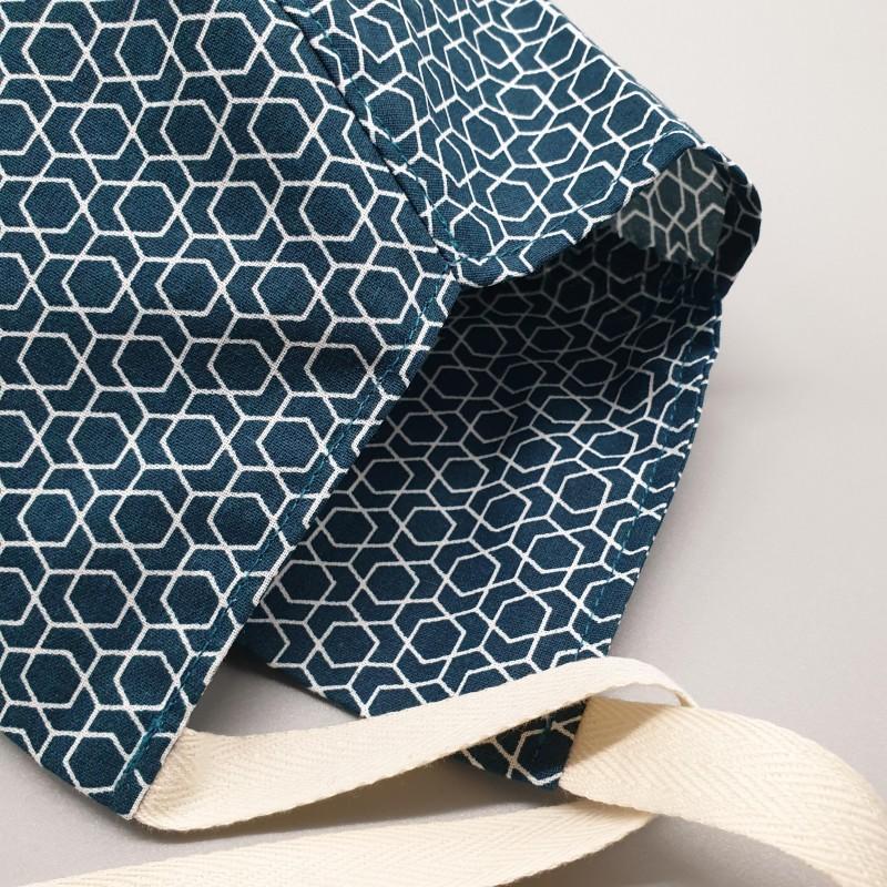 Calot court - hexagones émeraudes