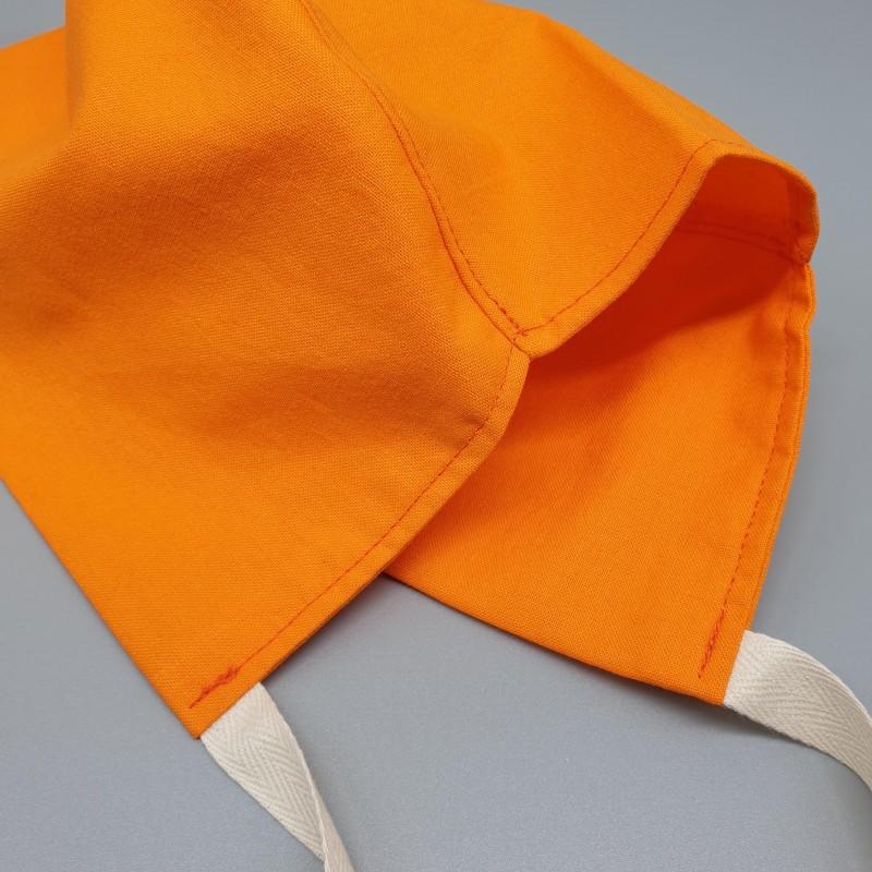 Calot court - orange uni