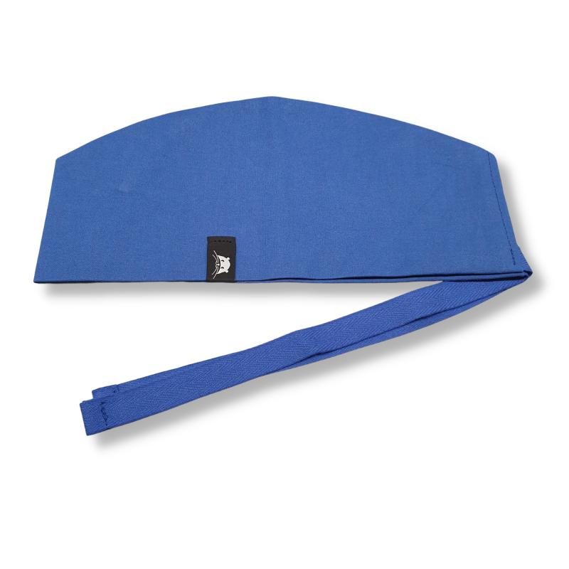 Calot court - bleu royal uni