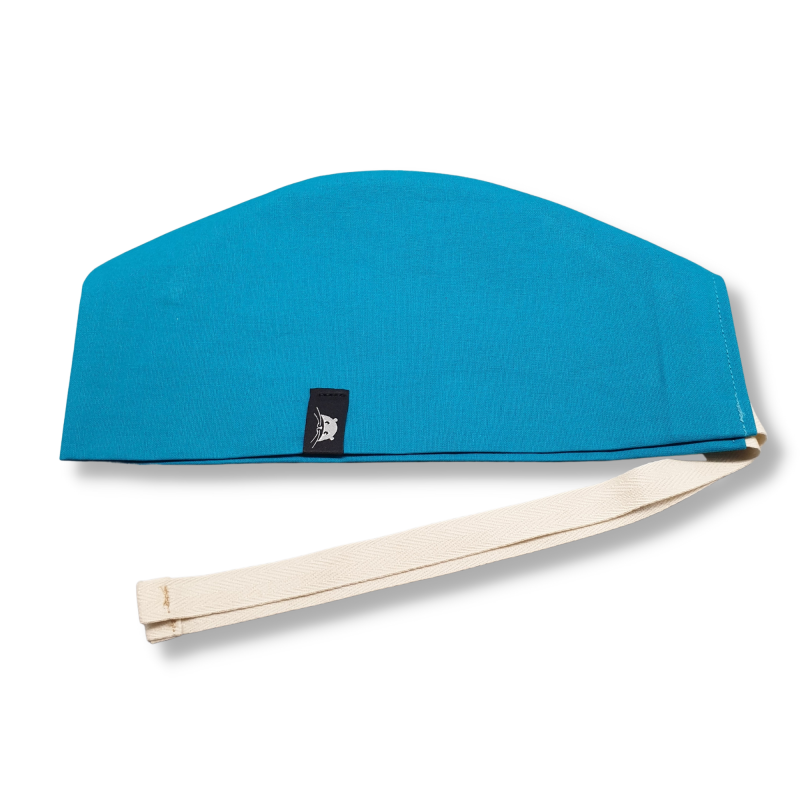 Calot court - bleu turquoise uni