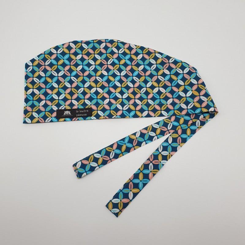 Calot de bloc - céramique turquoise