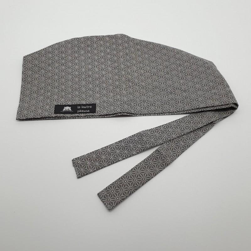 Calot de bloc - asanoha gris