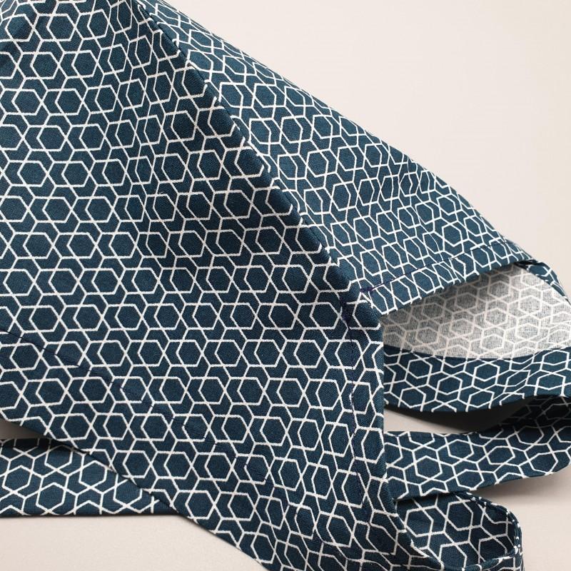 Calot de bloc - hexagones émeraudes