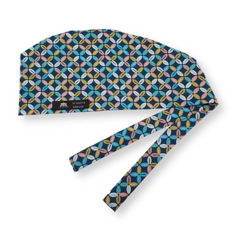 Calot de bloc couvrant - céramique turquoise