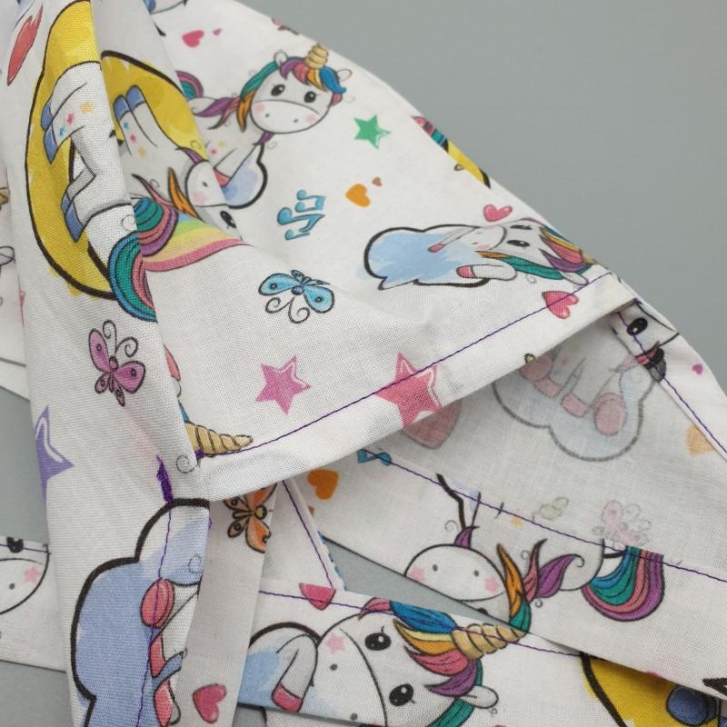 Calot de bloc couvrant - unicorn rainbow