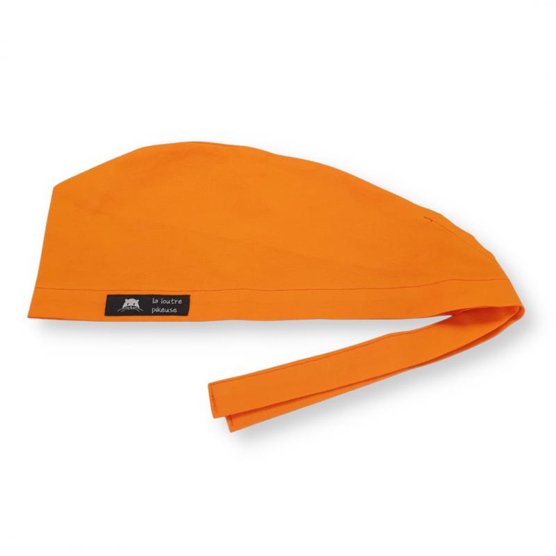 Calot de bloc couvrant - orange halloween