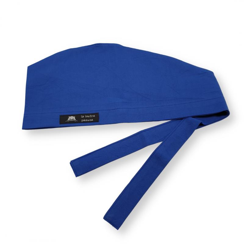 Calot de bloc couvrant - bleu royal uni
