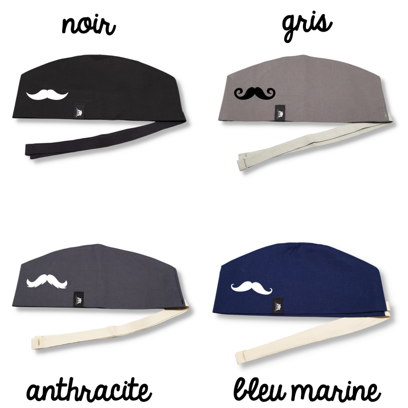Calot court - moustache