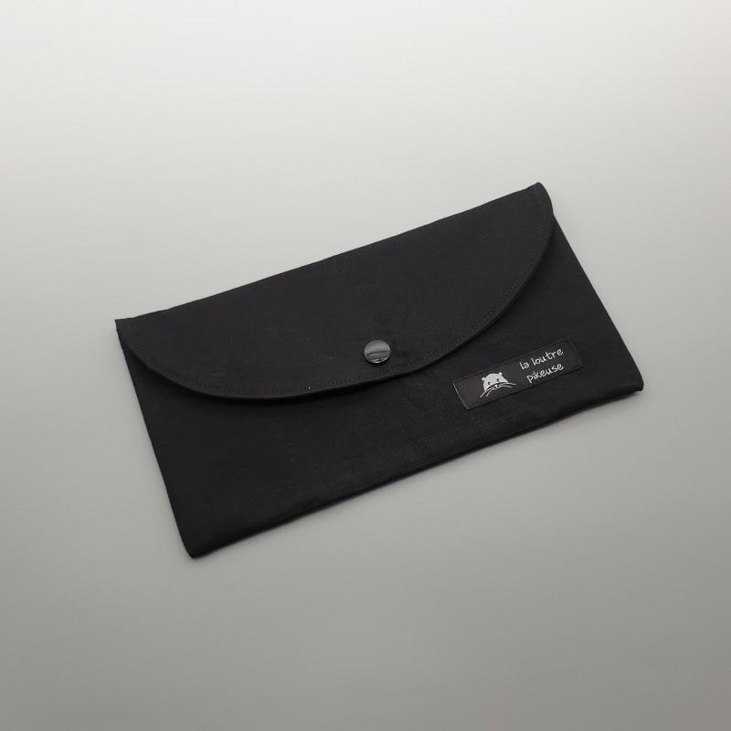 Pochette à masques - noire